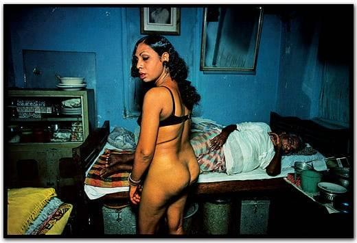 Ragini, a transvestite.Falkland Road, Bombay, India. 1978 by Mary Ellen Mark