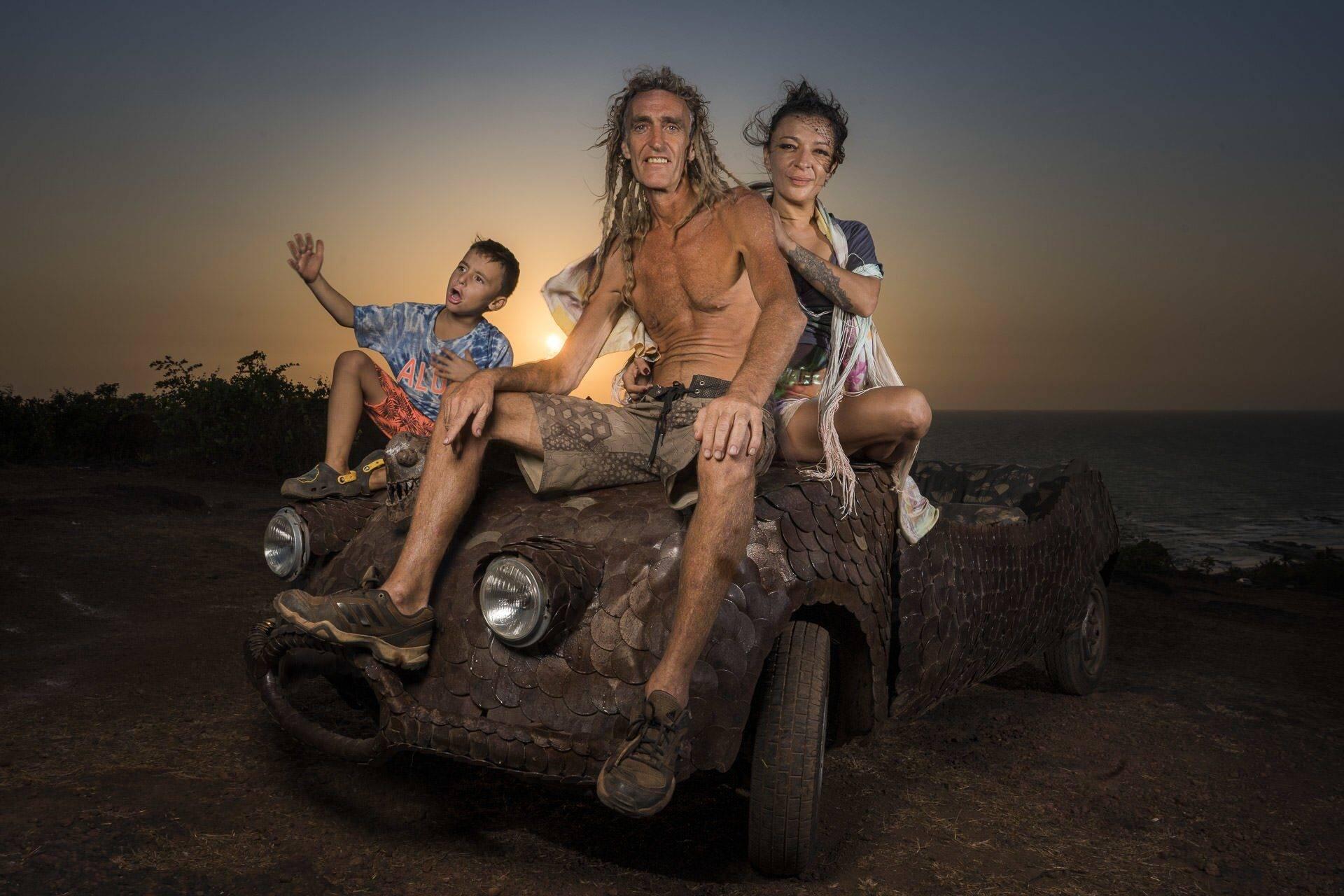 hippies in Goa